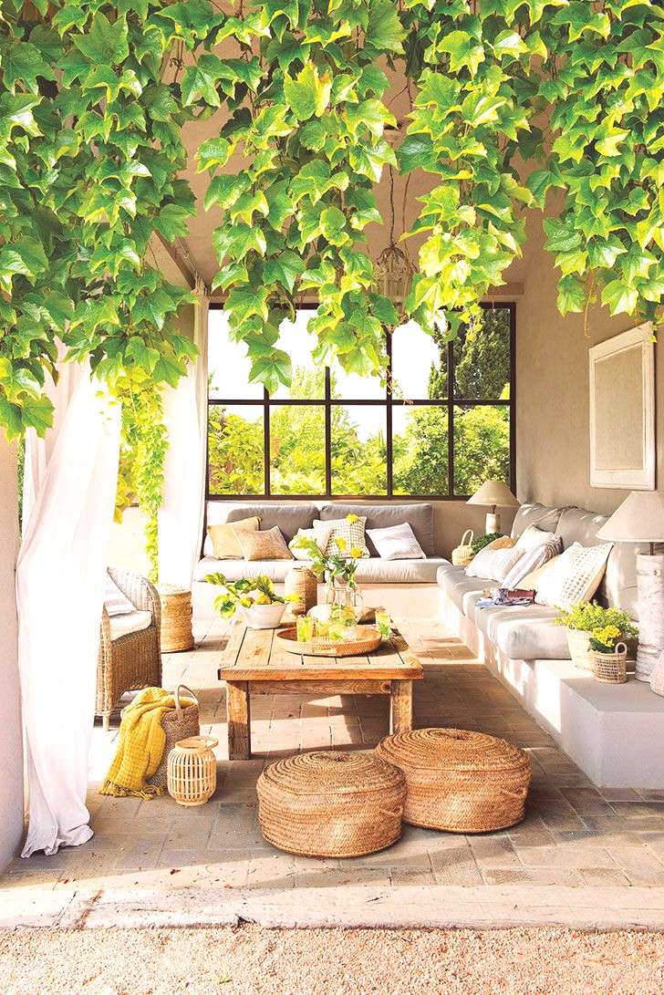 ⟪ Dream country house surrounded by greenery⟫ totally my dream outdoor space, this is the place