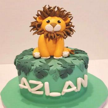 A cake for a very special person. Happy 40th day to my nephew Azl