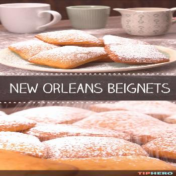 Beignets are the quintessential Big Easy treat, perfect for celebrating Mardi Gras or any time you