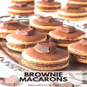 Brownie Macarons