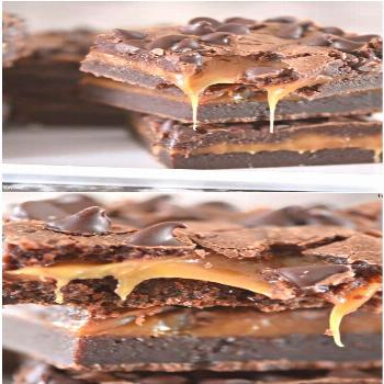 Caramel Brownies | Recipe
