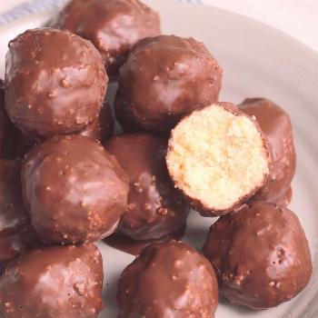 Chocolate Coconut Balls These vegan Chocolate Coconut Balls are made with simple ingredients that c