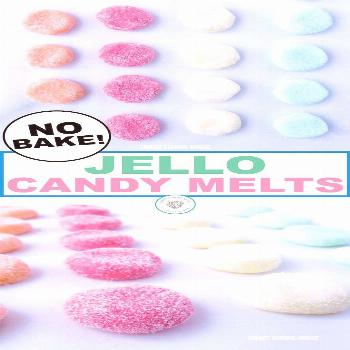 Delicious jello candy melts are a perfect snack for you to make with your kids. This delicious, no