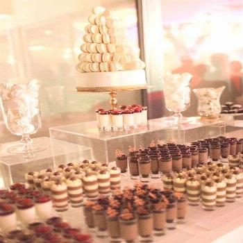 Dessert bar wedding -  Wedding dessert table -  Sweet table wedding -  Wedding sweets -  Wedding fo
