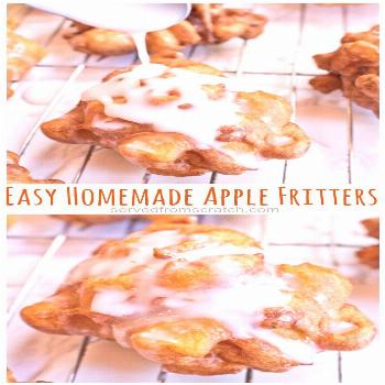 Easy Homemade Apple Fritters These Easy Homemade Apple Fritters are packed full of fresh apples, si