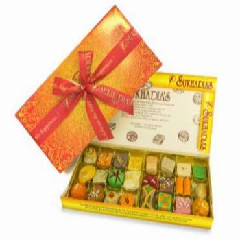 FRESHLY MADE IN USA - Sukhadia's Indian Sweets Assorted Mix,