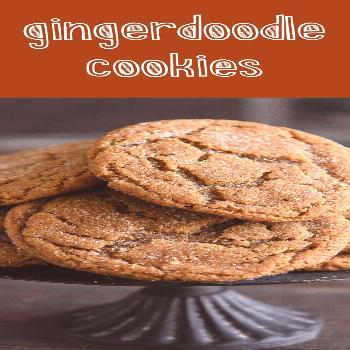 Gingerdoodle Cookies-If you are looking for the best cookie to bring to your Cookie Exchange party,
