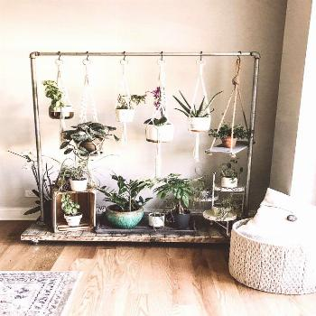 Home Design And Decor Ideas And Inspiration  — First Thyme Mom Hanging Herb Garden. Rolling Herb