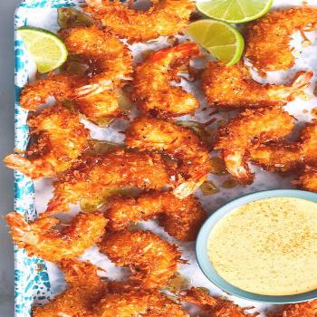 Honey-Pepper Coconut Shrimp Recipe