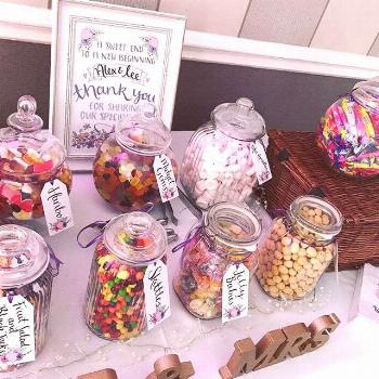 Just wondering when it's acceptable to make a start on the sweetie table at a wedding...