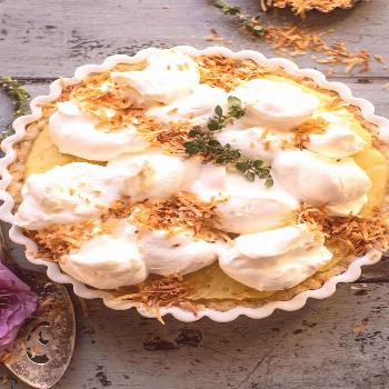 Lemon Sugar Coconut Cream Pie |
