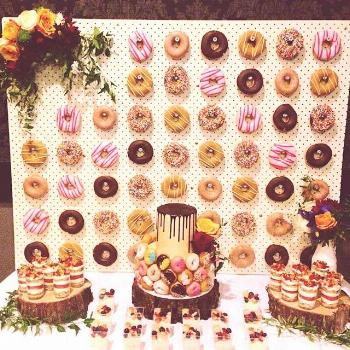 My 26th spent with everyone & everything I love.  Donut wall by @littleluuluuscakes  Donuts by @kri