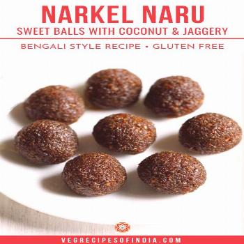 Narkel Naru Looking for an easy ladoo recipe to make for a festive or religious occasion? Try this