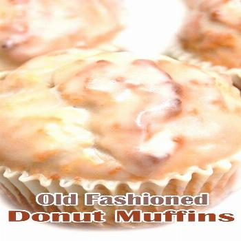 No need to make a Krispy Kreme run when you have this recipe on hand. For the Muffins: 1/4 cup butt