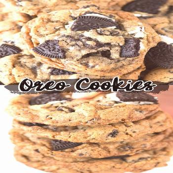 Oreo Cookies These oreo cookies are loaded with 3 cups of chopped oreos! Some of the best cookies a