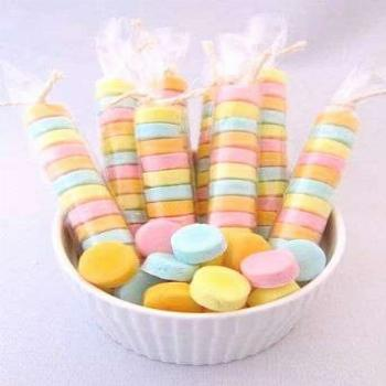 Recipe for Homemade Sweet Tarts - Sweet and sour all wrapped up in one tiny magnificent bite! That