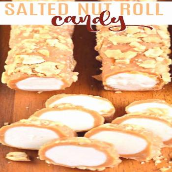 Salted Nut Roll Copycat Salted Nut Roll Candy Bar Recipe is a candy store classic. You can make it