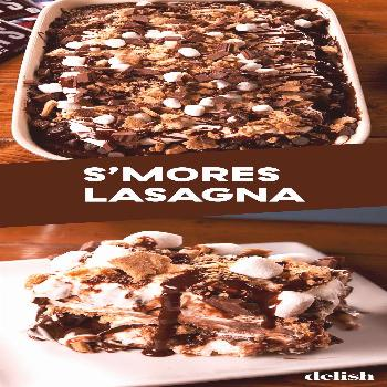 S'mores Lasagna Is The Best No-Bake Sugar Rush You've Been Waiting ForDelish