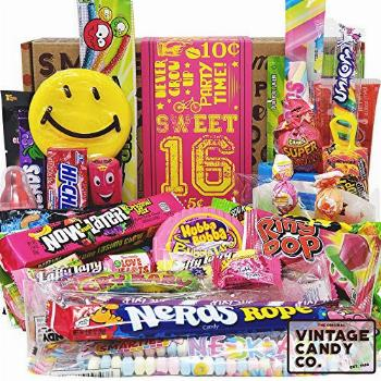 SWEET 16 BIRTHDAY CANDY GIFT FOR 16 Year Old Girl - Unique