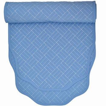 Sweet Pea Linens Periwinkle Blue Quilted 60 inch Table