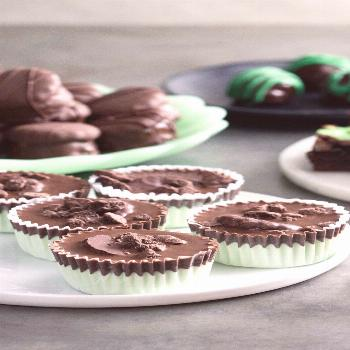 Thin Mint Treats For Thin Mint Freaks Love Thin Mints? Then you'll freak out over these truffles, c