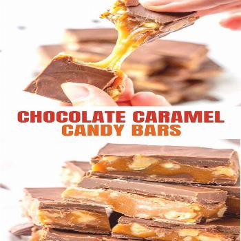 Triple Treats Candy with chocolate, caramel and walnut are the ultimate treat! They're perfect for