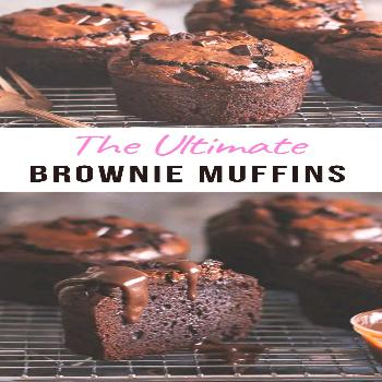 Ultimate Brownie Muffins - Pretty. Simple. Sweet.