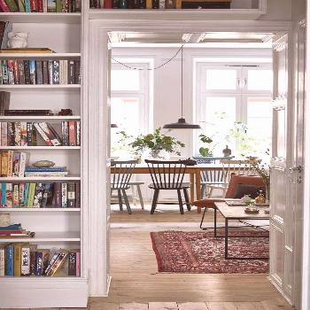 Un appartement cosy en Suède - Esprit Laïta Find inspiration for your deco in this beautiful and