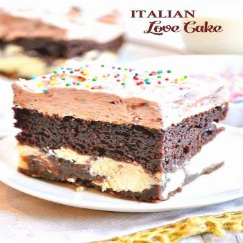 With help from a cake mix, this Chocolate Italian Love Cake is so simple that even your kids can ma