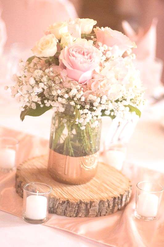 39 Mason Jar Wedding Centerpieces For Every Wedding - ChicWedd#centerpieces