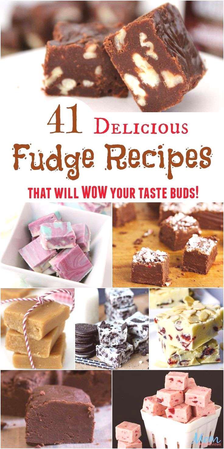 41 Delicious Fudge Recipes that will WOW Your Taste Buds