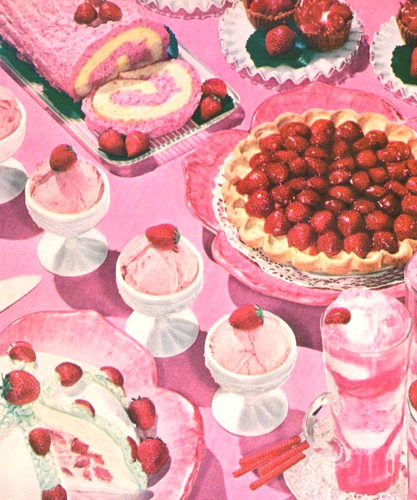 A slideshow of 1950s vintage food photography to soothe your soul.