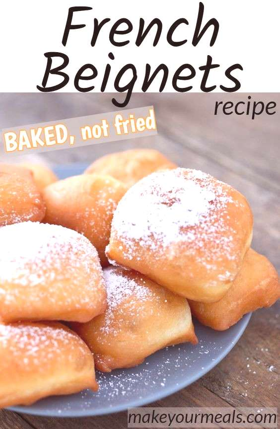 Baked French Beignets