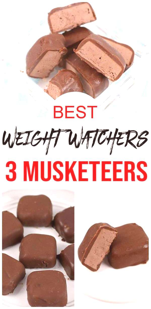 BEST 3 Musketeers Candy Weight Watchers Recipe! 3 Musketeers candy chocolate bites are a great smal
