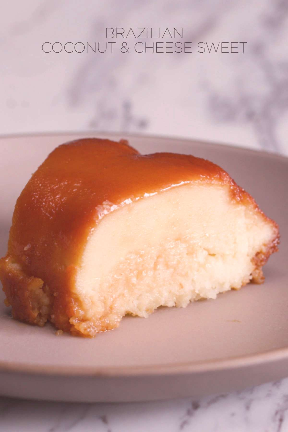 Brazilian Coconut and Cheese Sweet Parmesan in your dessert? We promise you, it's delicious! This a