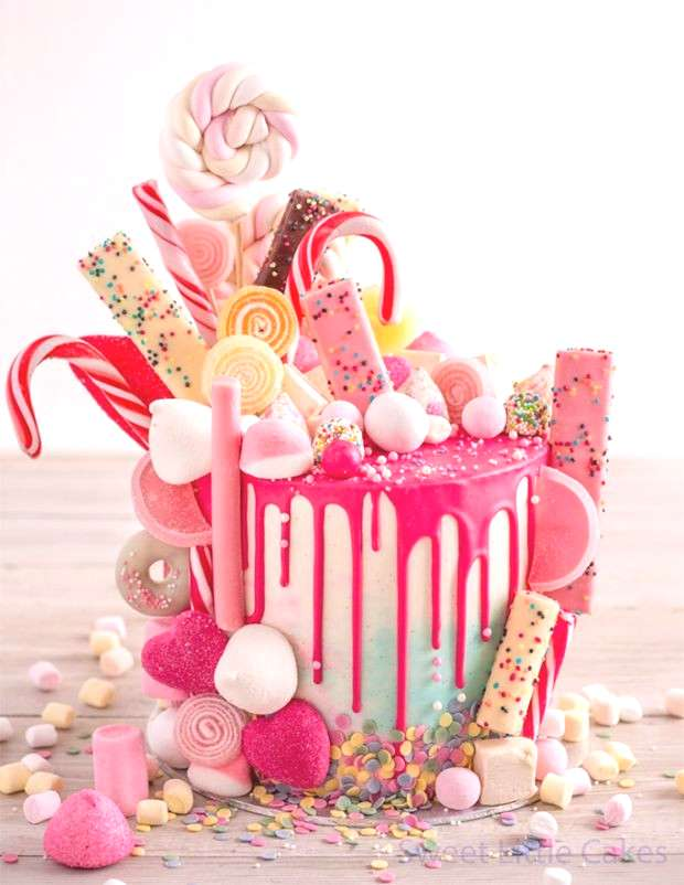 Cake, Sweetie! 19 Epic Candy-Covered Wedding Cakes - A M -