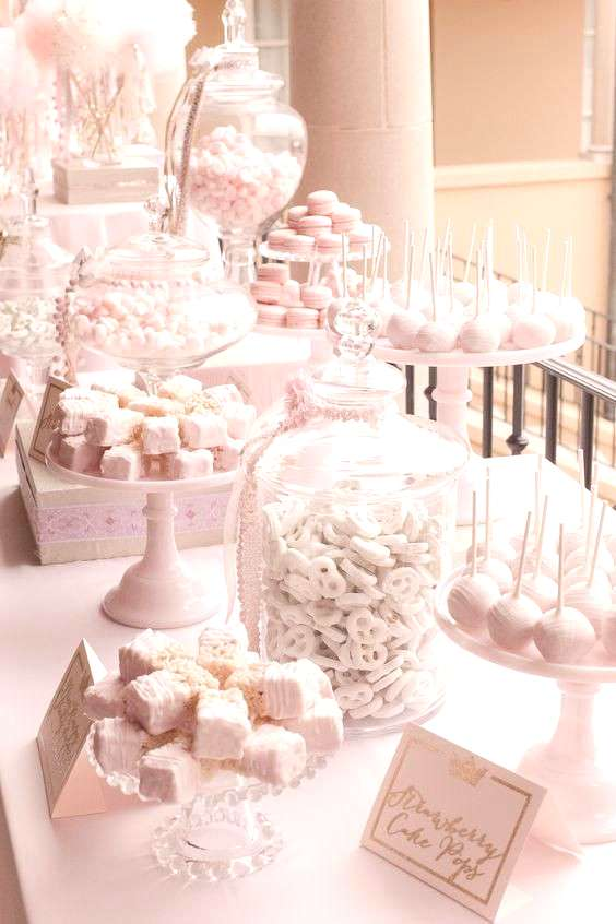 candy table. Candy buffet ideas. How to set up a candy buffet. Wedding candy buffet.