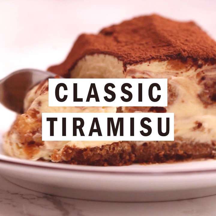 Classic Tiramisu Classic Tiramisu is an easy Italian dessert recipe made with ladyfingers, coffee,