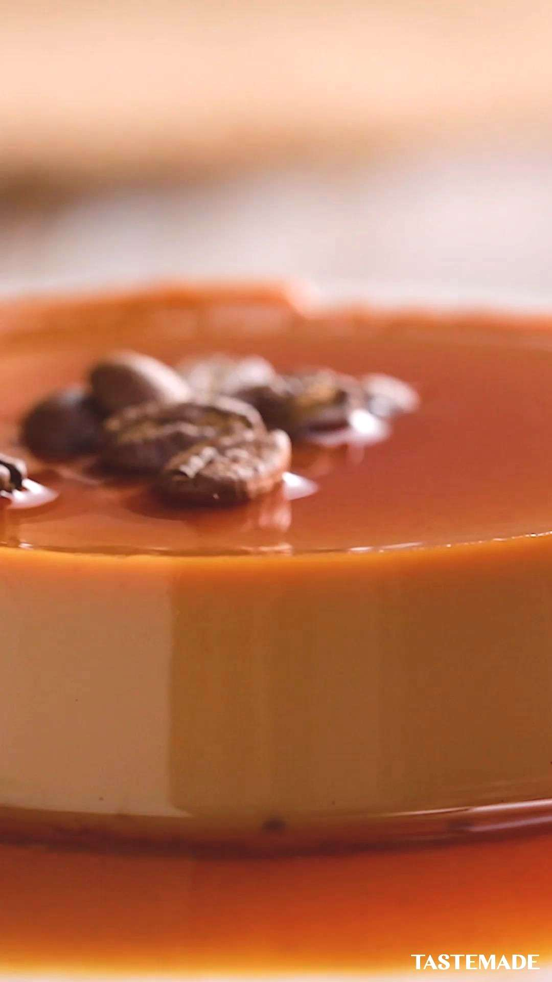 Coffee Crème Caramel Coffee lovers, all you need is five ingredients for this java-infused crème