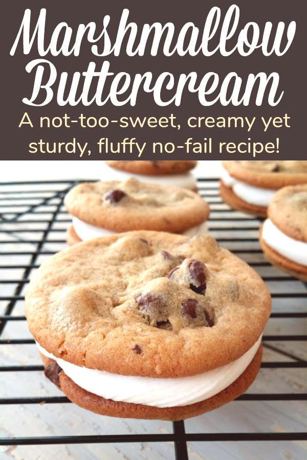 Cookie Sandwiches with No-Fail Marshmallow Buttercream Cookie Sandwiches with No-Fail Marshmallow B