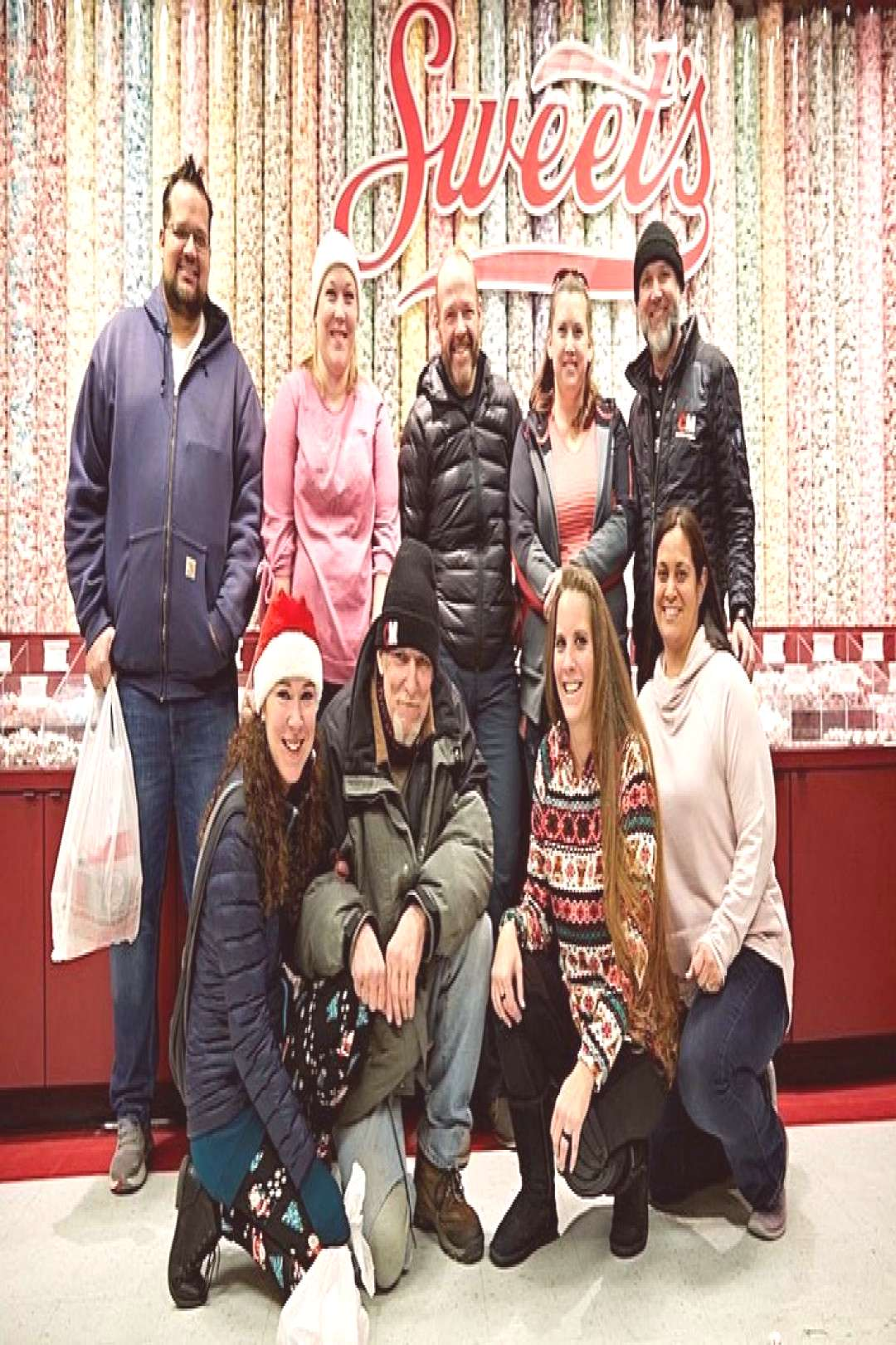 December 17th we took our group to the Sweet Candy Company for a
