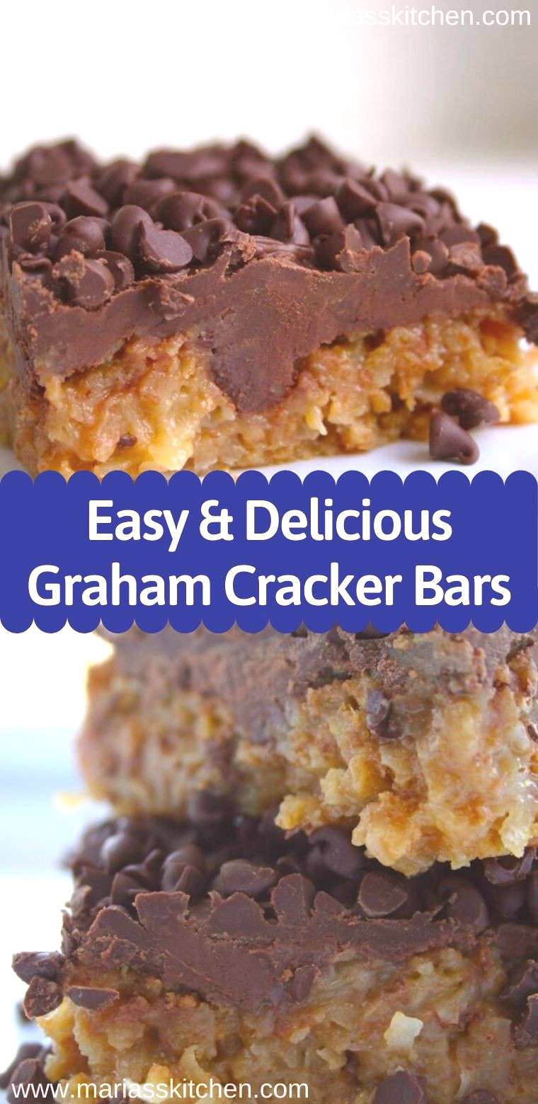 Easy and Delicious Graham Cracker Bars Easy and Delicious Graham Cracker Bars
