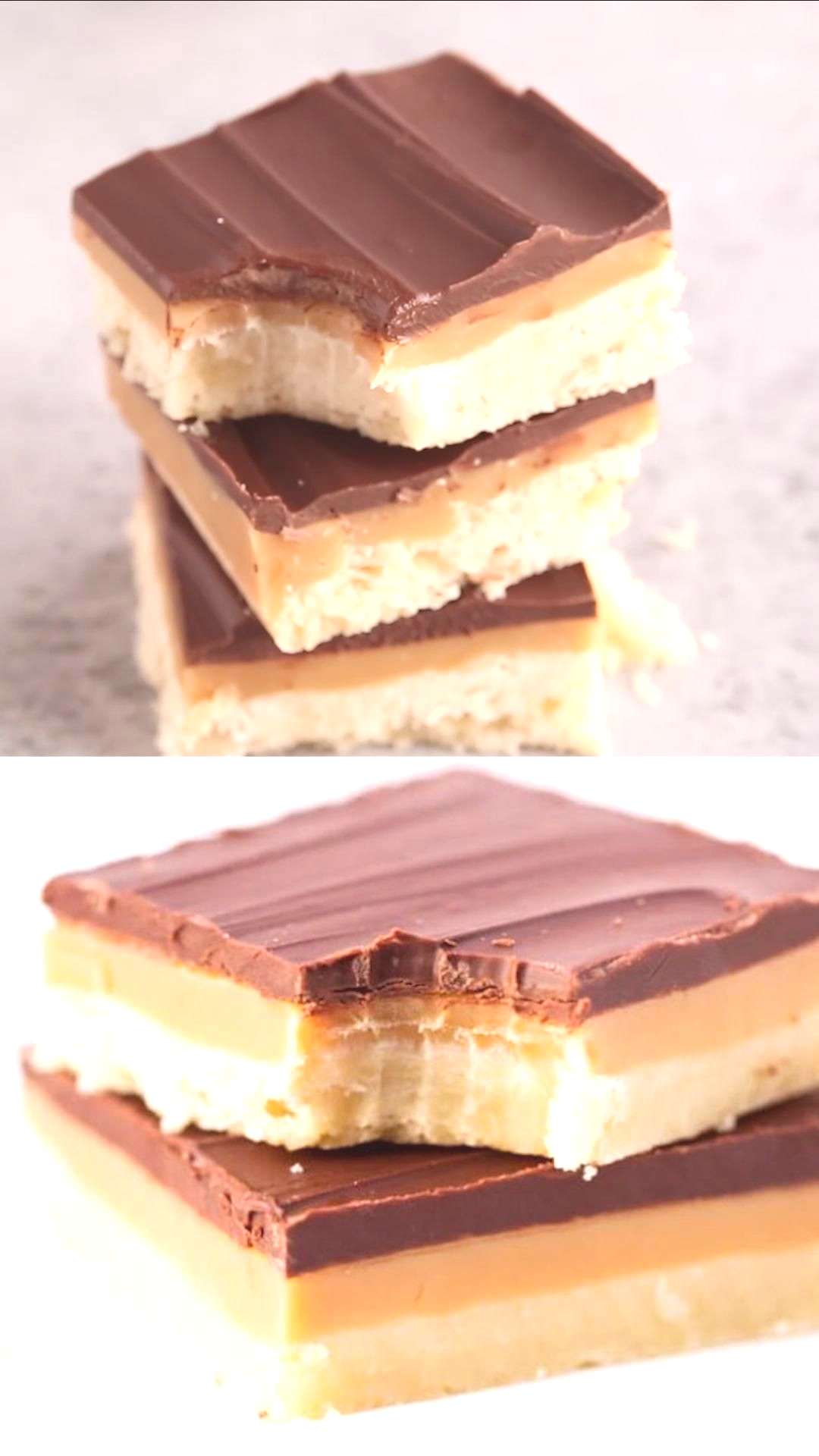 Easy Homemade Twix Bars Gooey homemade caramel is perfectly sandwiched between the classic Twix in