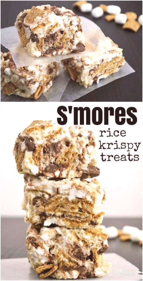 Everyone loves s'mores!  Try out this fun twist on a favorite summer time snack - Rice Krispy Treat
