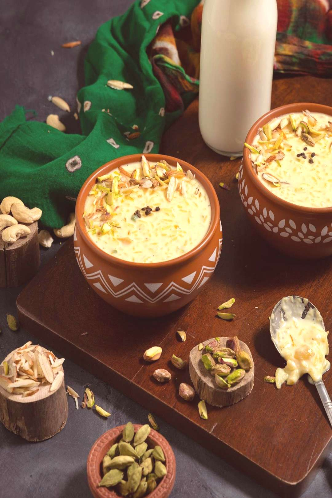 Indian rice pudding or rice kheer recipe is creamy and aromatic I