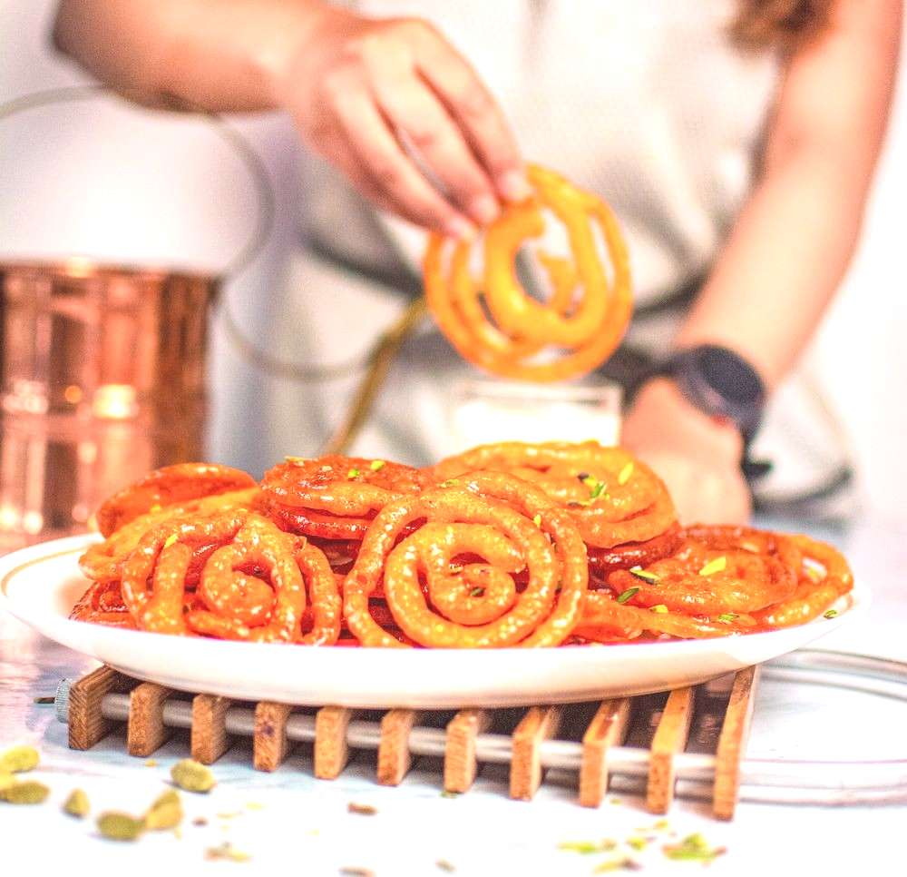 Jalebi recipe | How to make Instant Jalebi Jalebi is a quick and easy Indian style funnel cake rec