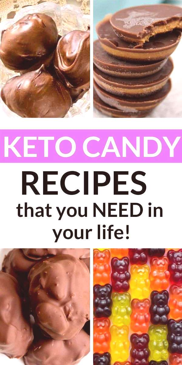 Keto Candy Keto and low carb keto candy recipes. Chocolate, hard, gummy, and more.