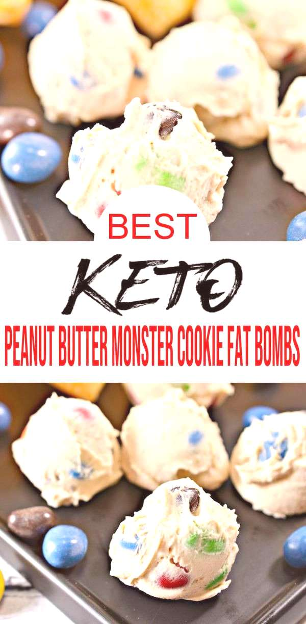 Keto fat bombs you won't be able to pass up! {Easy} low carb keto fat bomb recipe for best monster