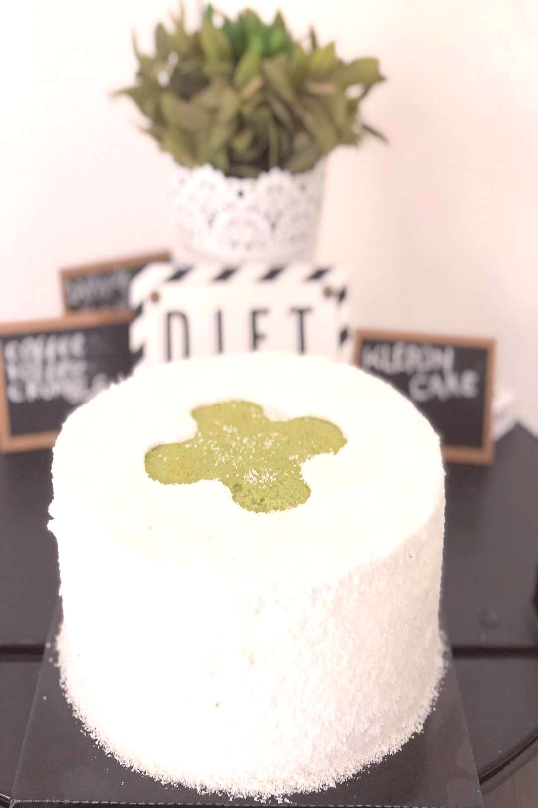 Klepon Cake Sweets for today *byMe* #yumm #traditionalcake #sweet