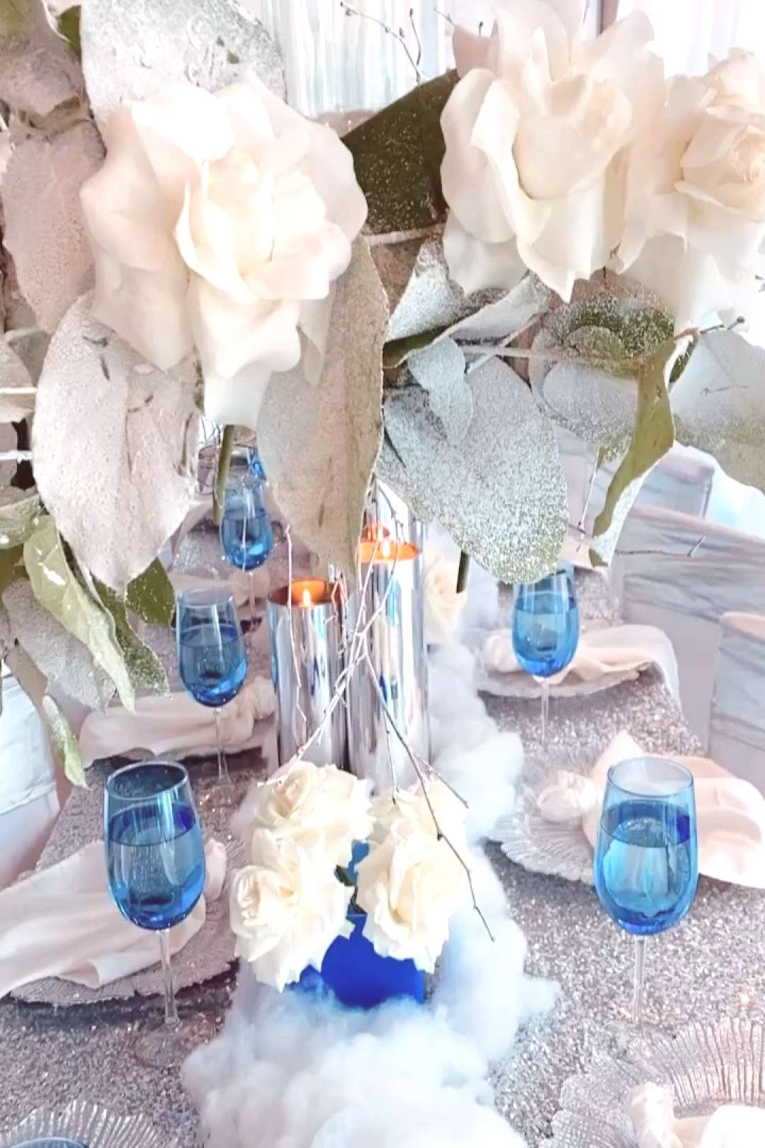 New Table Decor step by step before & after #sweetsixteenparty If